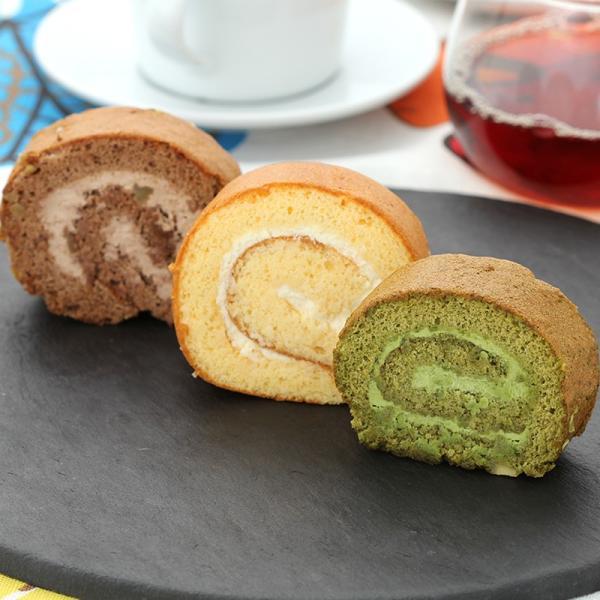 ロールケーキ お取り寄せスイーツ sweets ショコラ プレーン セット ひまわりポンポン 送料無料 ポイント消化