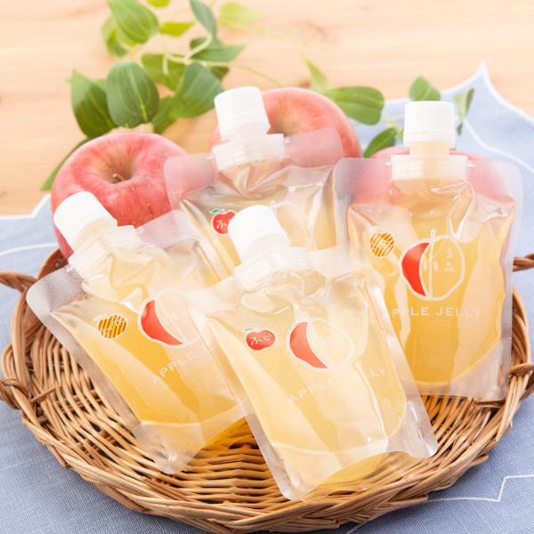 青森りんごゼリー 詰合せ 2種 セット ゼリー 洋菓子 りんごゼリー スイーツ 青森産 りんご ふじ 青森 なんぶ農援