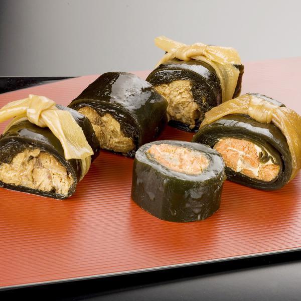 風味舌華 昆布巻き 鮭 鰤 たら子 にしん 4種 詰合せ 惣菜 国産 常温 こぶまき 魚介 さけ ぶり たらこ 富山 鈴香食品