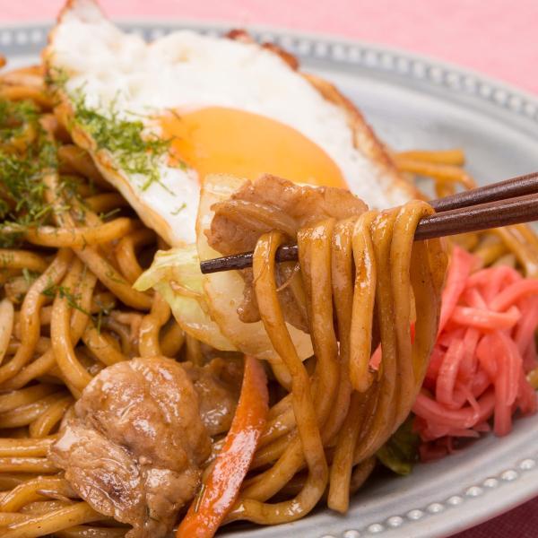 やきそば ソース焼きそば 中華味焼きそば 3食 セット 麺 ヤキソバ 本格ソース付き インスタント ポスト投函便 送料無料 ポイント消化