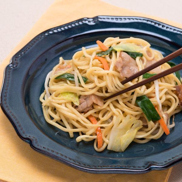 上海焼きそば 中華味焼きそば 6食 セット やきそば 麺 ヤキソバ 本格ソース付き インスタント ポスト投函便 ポイント消化