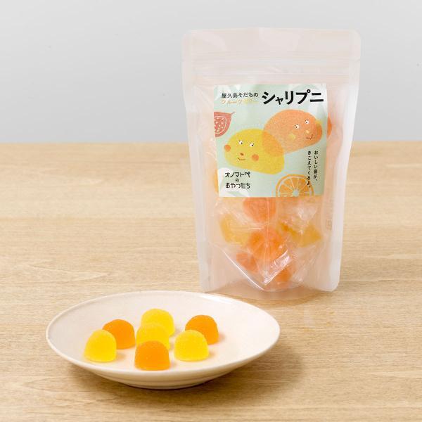 屋久島そだちのフルーツゼリーシャリプニ 85g×6 グミ お菓子 屋久島産 国産 おやつ 個包装 オノマトペのおやつたち