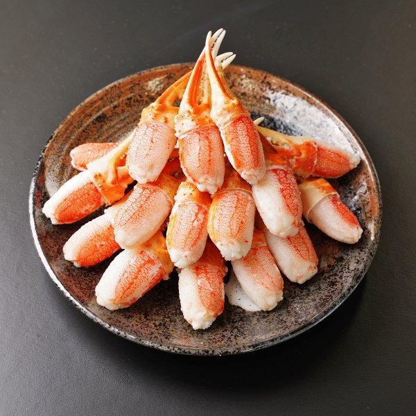 レンジでポン!生ずわい爪肉 600g ズワイガニ 爪 カニ 冷凍 ポーション 食べやすい 魚介 海鮮 生ズワイガニ