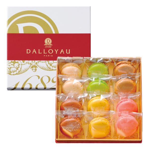 マカロン 詰合せ 12個入 6種 セット 焼き菓子 洋菓子 高級 スイーツ デザート 塩キャラメル味 東京 ダロワイヨ