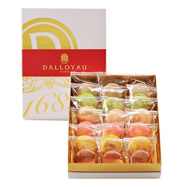 マカロン 詰合せ 18個入 6種 セット 焼き菓子 洋菓子 高級 スイーツ デザート 塩キャラメル味 東京 ダロワイヨ