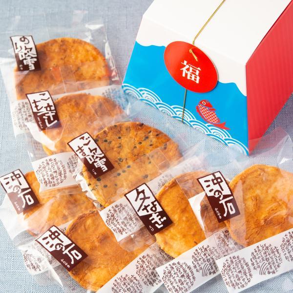 草加せんべい 富士山BOX 6個セット 5種 6箱 セット せんべい 和菓子 煎餅 炭火手焼き 埼玉 小宮せんべい本舗