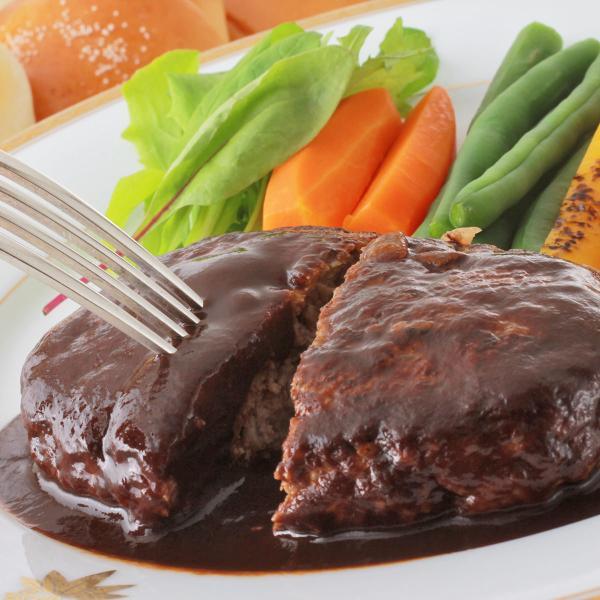 金谷ホテル 冷凍ハンバーグ 6食 セット 詰合せ ハンバーグ 惣菜 冷凍 デミグラスソース おかず 個包装 肉惣菜 栃木