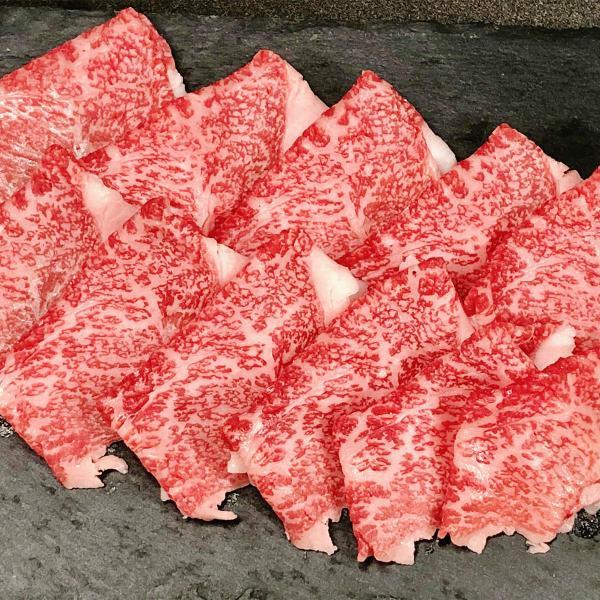 佐賀牛 A5ランク すき焼き&しゃぶしゃぶ用 モモ スライス 600g 牛肉 赤身 和牛 国産 ブランド肉 冷凍 霜降り