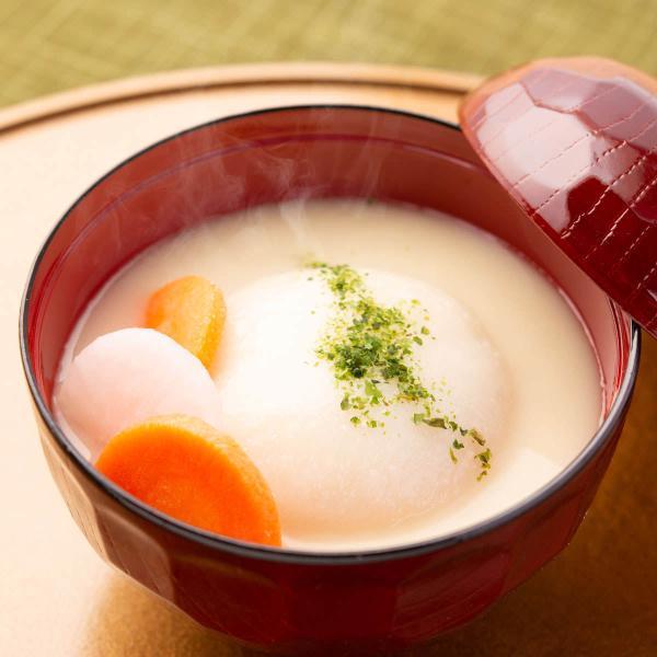 讃岐あんもち雑煮  雑煮 惣菜 あんもち雑煮 郷土料理 味噌汁 丸餅 あんもち 米みそ 香川 ぶどうの木