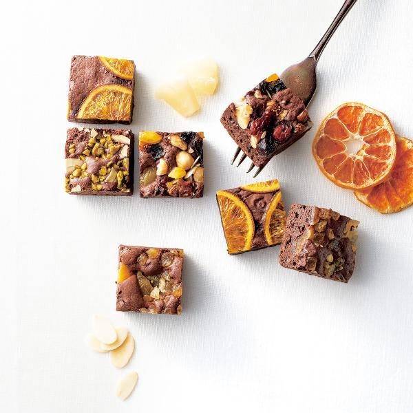 ホシフルーツ ナッツとドライフルーツの贅沢ブラウニー 16個 4種 詰合せ ブラウニー 洋菓子 スイーツ 焼き菓子
