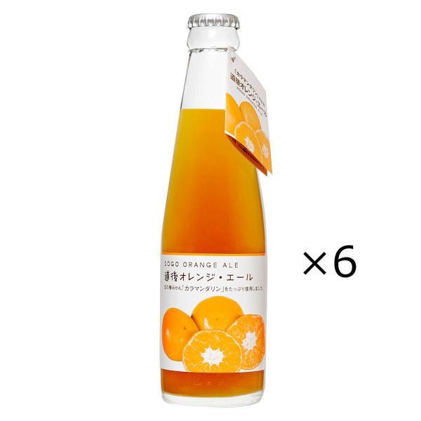 道後オレンジ・エール カラマンダリン 200ml 6本 発泡酒 道後エール オレンジ 柑橘 愛媛 地ビール フルーツビール 水口酒造