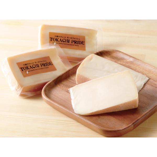 エゾリスチーズ 十勝ラクレットモールウォッシュ 4個 チーズ 国産 ラクレット 手作り 北海道 広内エゾリスの谷チーズ社