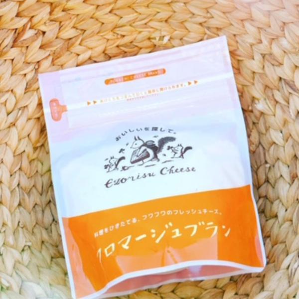 エゾリスチーズ フロマージュブラン 6個 チーズ 国産 フレッシュチーズ 手作り 十勝 北海道 広内エゾリスの谷チーズ社