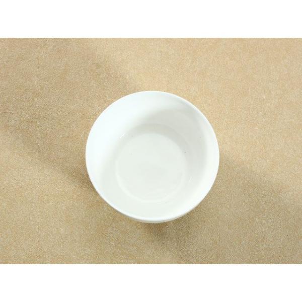 ライスボウル スープボウル 4.3号 320ml 縁あり 白磁 おしゃれ レンジOK 小さい 韓国風|nishida-store|03