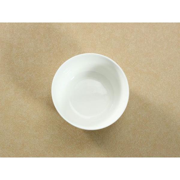 茶碗 ライスボウル  4.5号 縁あり  ご飯 どんぶり 白磁 おしゃれ レンジOK 普通盛り 韓国風|nishida-store|03