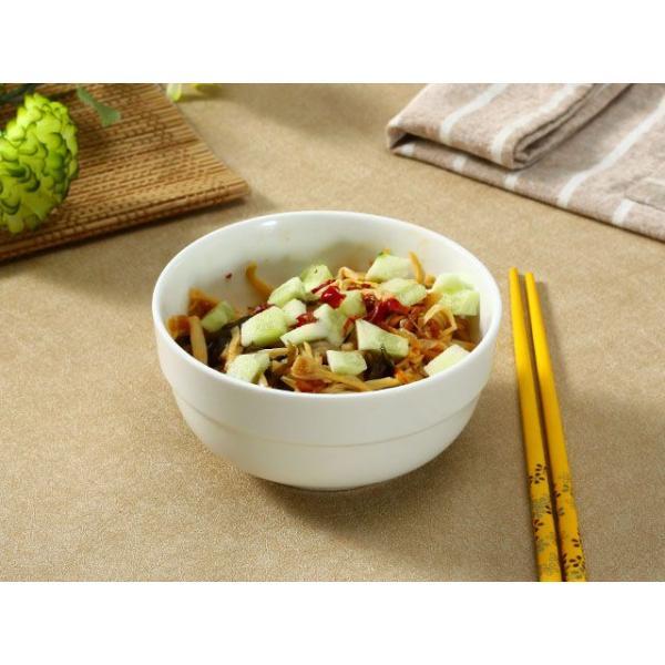 茶碗 ライスボウル  5号 縁あり  ご飯 どんぶり 白磁 おしゃれ レンジOK 普通盛り 韓国風 無地 シンプル|nishida-store