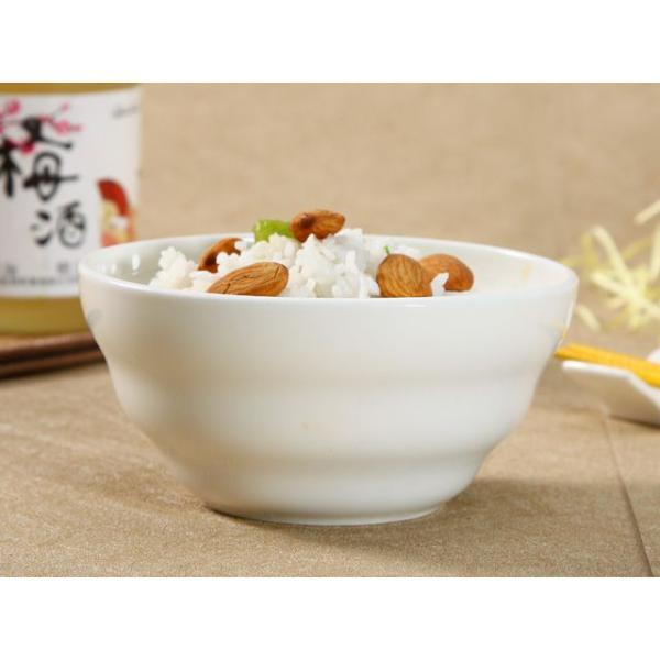 ライスボウル 4.5号 10.8cm 渦巻タイプ 茶碗 ご飯 白磁 おしゃれ レンジOK シンプル ホワイト|nishida-store