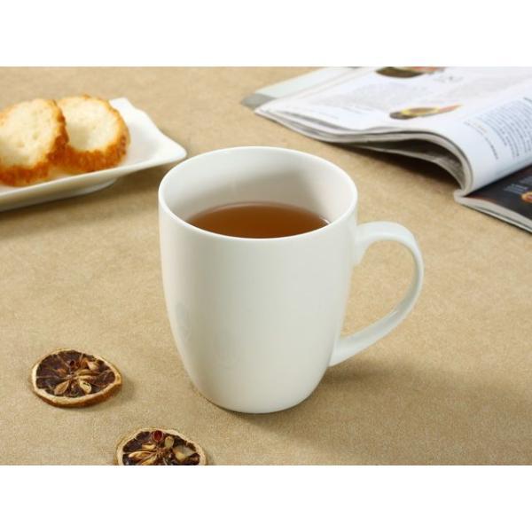 マグカップ おしゃれ 500ml 白磁 大きい レンジOK カフェ コーヒー シンプル ホワイト|nishida-store|02