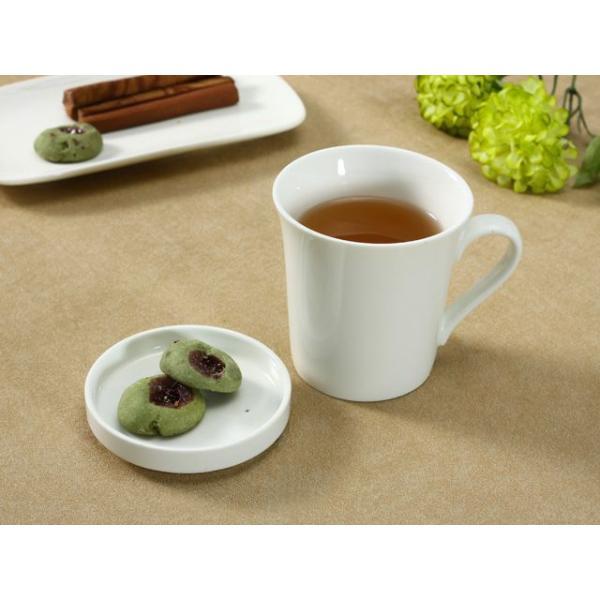 マグカップ 蓋付き 320ml  白磁 おしゃれ レンジOK シンプル ホワイト 珈琲 紅茶|nishida-store|02