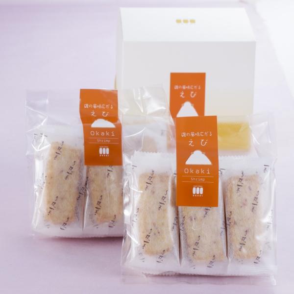 【海老おかき】Cute box(30枚入り)|nishidaseika-store