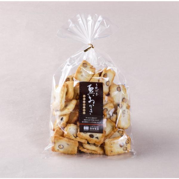【丹波篠山黒大豆おかき】ひとくち巾着 ミニ(150g入り)|nishidaseika-store