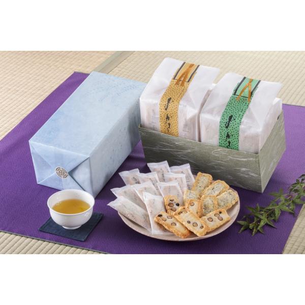 【豆・青のりおかき】和紙袋 2種詰め合わせ|nishidaseika-store|03