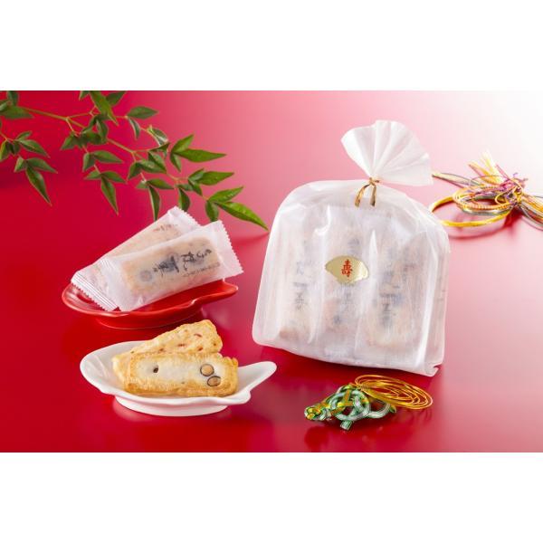 【豆おかき・海老おかき】寿巾着袋|nishidaseika-store|02