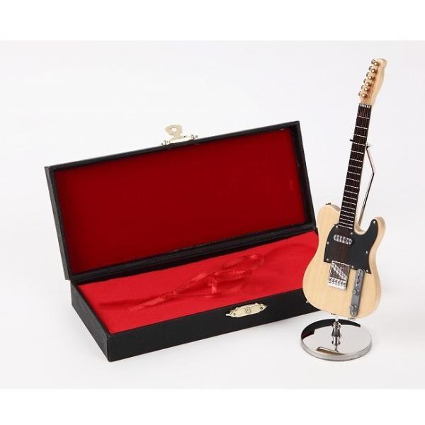 ミニチュア楽器(フィギュア)エレキギターテレキャスター風16cmサンライズサウンドハウス(飾り物で音は出ません)