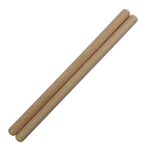 太鼓バチ 材質:カエデ(楓) 太さ20mm X 長さ420mm 国産手工バチ 太鼓 和太鼓 バチ