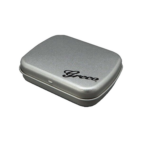 グレコピックケースブリキ缶PKC-450Bgracoアクセサリー入れとしてもOK日本製