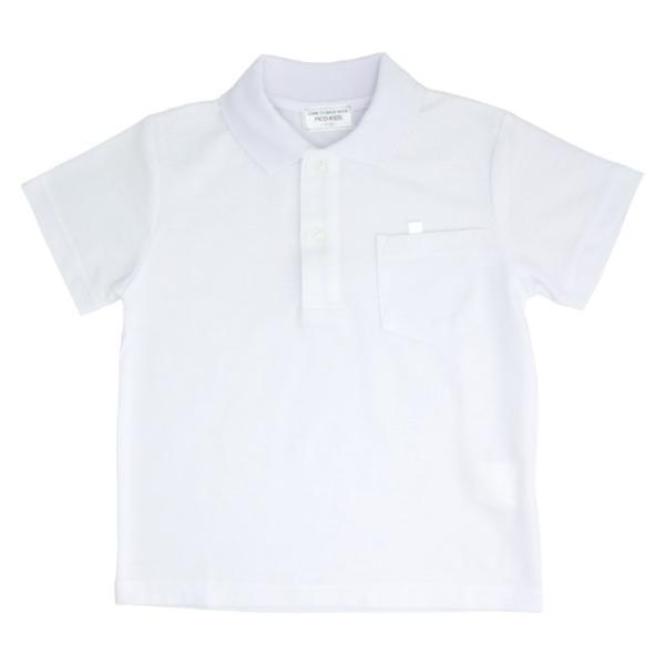 小学生制服 鹿の子 半袖ポロシャツ【返品・交換不可商品】|nishiki