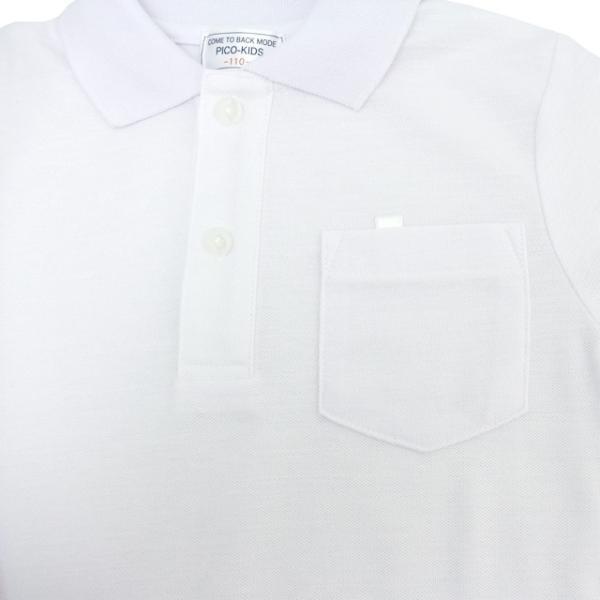 小学生制服 鹿の子 半袖ポロシャツ【返品・交換不可商品】|nishiki|03