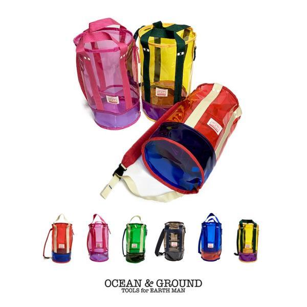 オーシャンアンドグラウンド(Ocean&Ground) プールバッグ LAGUNA 筒型 ビーチバッグ|nishiki