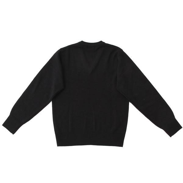 【アウトレット】スクールセーター 男女兼用/学生用 秋冬 アクリル70%ウール30% ネイビー 3S-XL【返品・交換不可商品】|nishiki|02