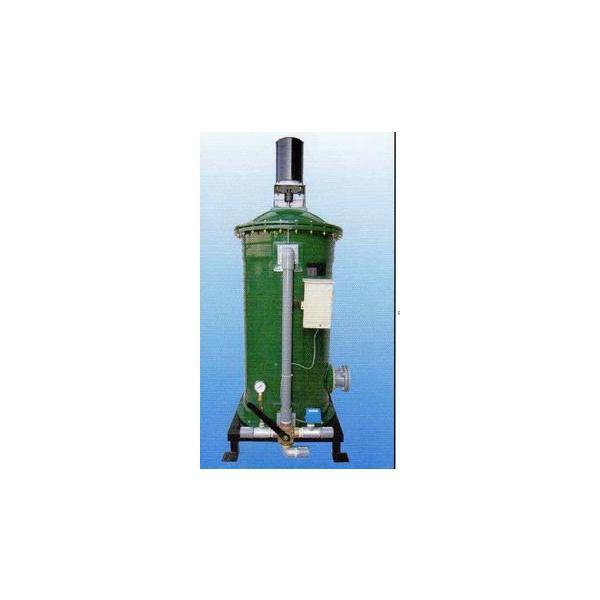  鑑賞池用生物膜式循環濾過機 半自動型 スーパーマリン NEW-650 18〜35t用 【大型商品 …