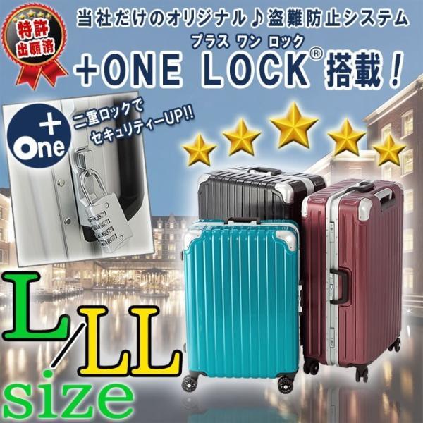 在庫処分特価 スーツケース 大型 キャリーケース TSA ハードケース スーツケース L/LL特大サイズ
