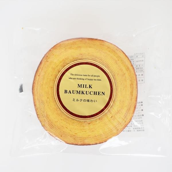 バウムクーヘン ミルク 半生菓子 ミルクバウム