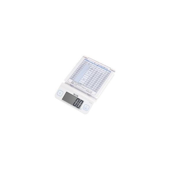 タニタ TANITA デジタルレタースケール KD-194L-WH|nishikoki-online