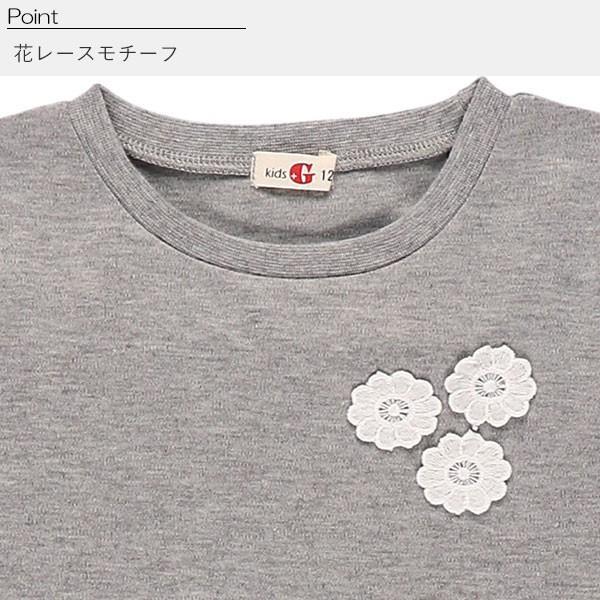 子供服 女の子 布帛チェック柄ドッキングTシャツ 110cm・120cm・130cm ガールズ 女児 キッズ ベビー 小児 児童 子ども服 おしゃれ|nishimatsuya|04