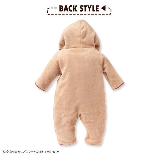 ベビー服 男の子 バンダイ)アンパンマン 裏起毛フリースカバーオール アイボリー/ベージュ 60cm-70cm 赤ちゃん ベビー 新生児 乳児 幼児 nishimatsuya 04