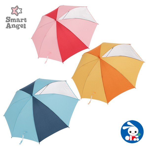 SmartAngel)ジャンプ傘(無地)【50cm】