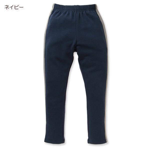 子供服 男の子 ウラぽかサイドラインパンツ ネイビー/ブラック/グリーン/グレー 130cm・140cm・150cm キッズ ジュニア 男児 ベビー|nishimatsuya|03