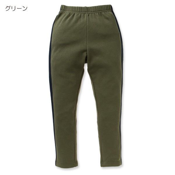 子供服 男の子 ウラぽかサイドラインパンツ ネイビー/ブラック/グリーン/グレー 130cm・140cm・150cm キッズ ジュニア 男児 ベビー|nishimatsuya|05