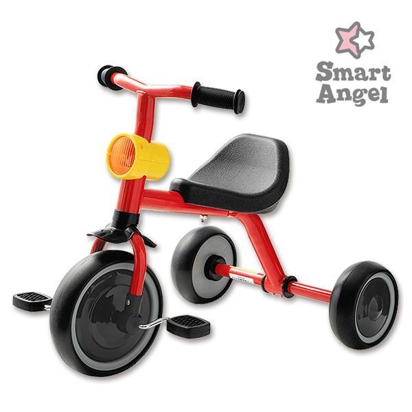 SmartAngel)三輪車funny3(レッド)|nishimatsuya