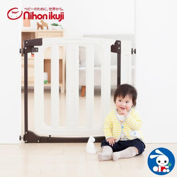 日本育児)スムースマルチゲイト ホワイティ 【階段上使用可】【ゲート】【フェンス】