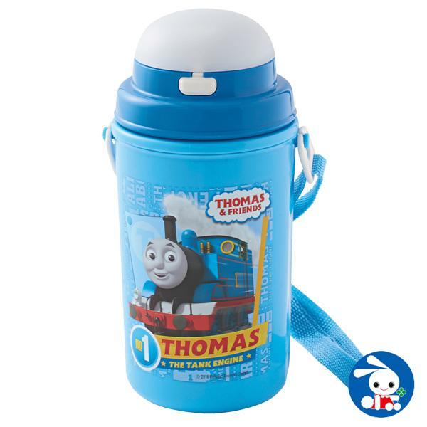 保冷ストロー付き水筒 トーマスNo.3(450ml)