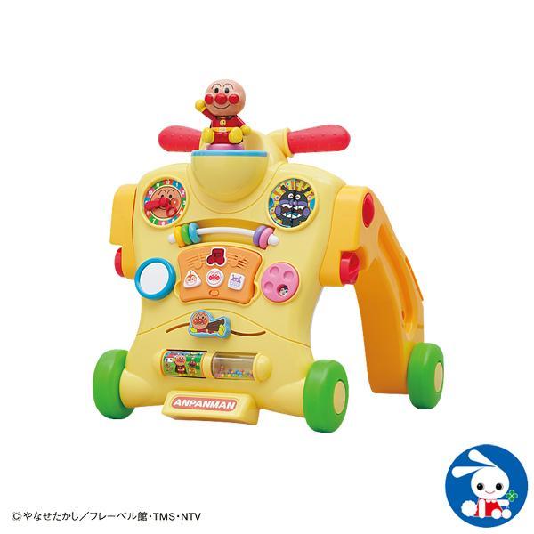 アンパンマン乗って!押して!へんしんウォーカー【歩行器】【セール】