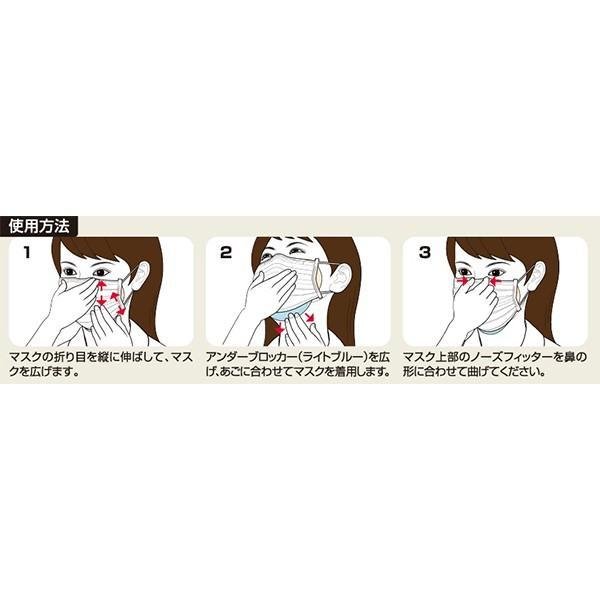 コーワ)三次元 高密着マスク ナノ 【小さめSサイズ/145mm】(ホワイト&ライトピンク/5枚入)[ ナノ繊維フィルター インフルエンザ 花粉 PM2.5 日本製 ]|nishimatsuya|07