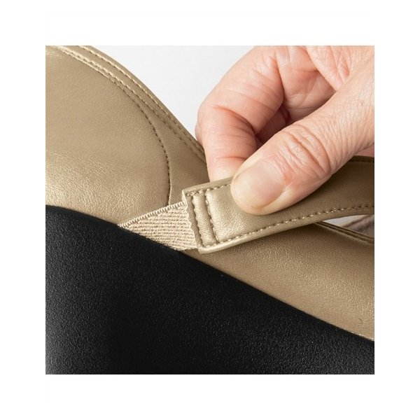 リゲッタプラス ストラップパンプス(ゆったりワイズ) 5E 靴 レディース コンフォートシューズ ニッセン
