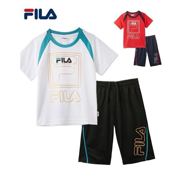 fdb783a3fdd FILA スポーツウェア キッズ T スーツ 男の子 女の子 子供服 ジュニア服 身長130/140